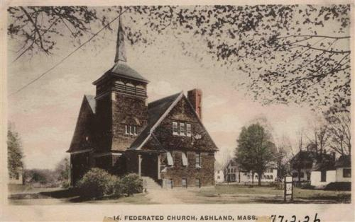 Ashland Postcard Series - The Federated Church of Ashland