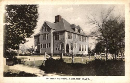 Ashland Postcard Series - Ashland High School