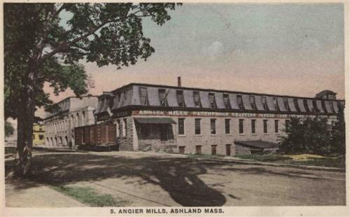 Ashland Postcard Series - Angier Mills