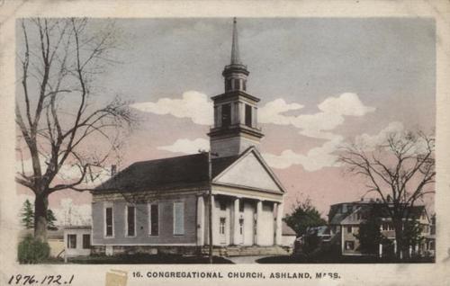Ashland Postcard Series - Congregational Church of Ashland