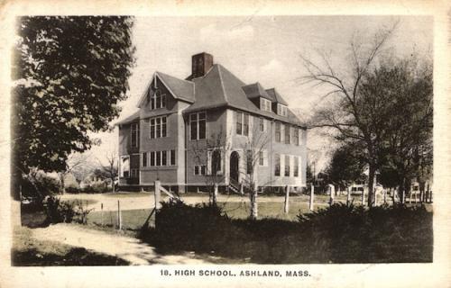 Ashland Postcard Series - Ashland High School