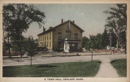 Ashland Postcard Series - Ashland Town Hall